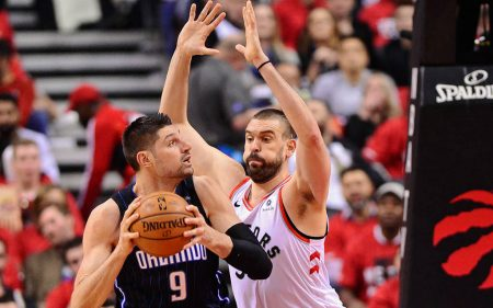 Marc Gasol vs Nikola Vucevic - Toronto Raptors vs Orlando Magic