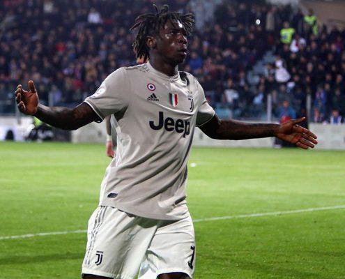 Moise Kean vs Cagliari - Juventus 2018-19