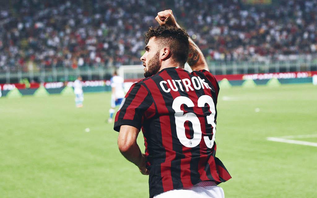 Patrick Cutrone Milan 2018-19