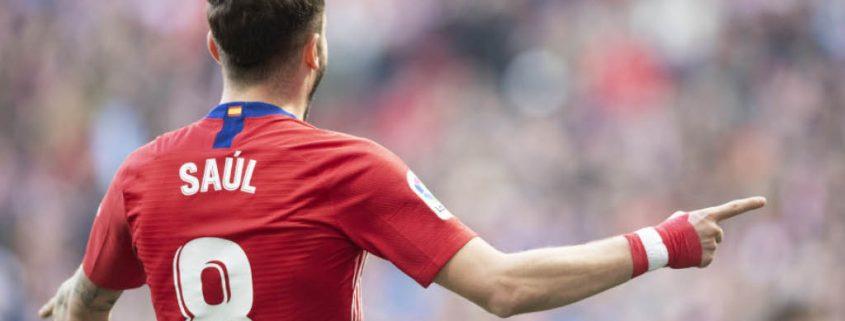 Saúl Ñíguez Atlético de Madrid 2018-19