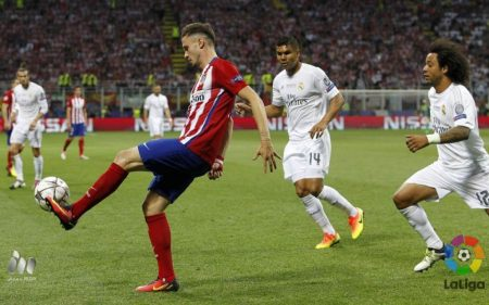 Saúl Ñíguez vs Real Madrid