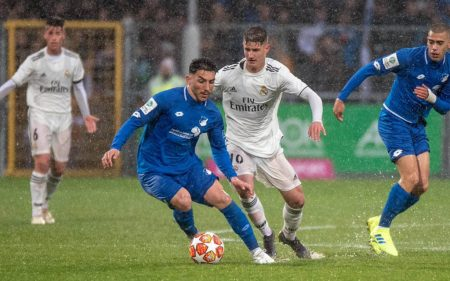 UEFA Youth League - Real Madrid vs Hoffenheim