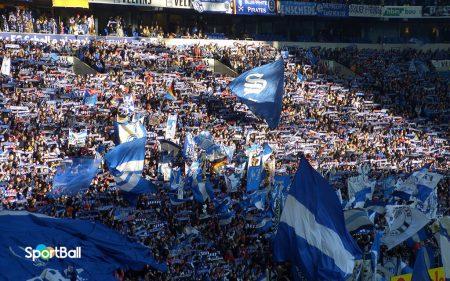 Estadios con más porcentaje de asistencias: VELTINS-Arena Schalke 04