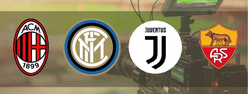 apodos de los equipos italianos de la Serie A