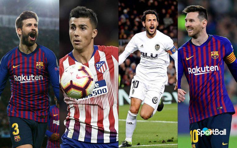11 ideal de LaLiga 2018-19
