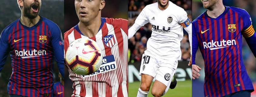 11 ideal de LaLiga 2018-19