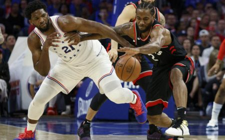 Kawhi Leonard vs Sixers, playoffs 2019-19