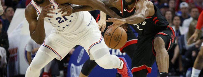 Kawhi Leonard vs Sixers, playoffs 2019-19