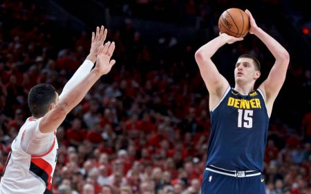 Nikola Jokic Playoffs 2019 vs Portland Trail Blazers