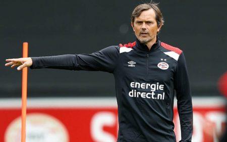 Phillip Cocu Entrenador PSV Eindhoven 1