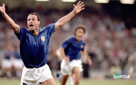Salvatore Schillaci Máximo goleador Mundial 1990 con Italia