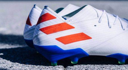 Las botas de fútbol de las estrellas: Lionel Messi.