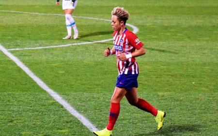 Amanda Sampedro, parte de la Selección Española en el Mundial Femenino 2019