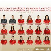 El 1x1 de las jugadoras de España en el Mundial Femenino 2019