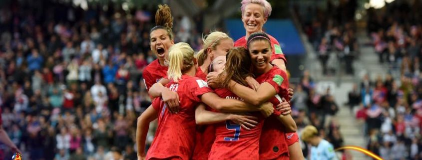 Estados Unidos rompe récord con goleada. Imagen vía: Fifa.com