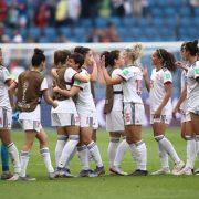 España accede a los octavos de final en el Mundial Femenino