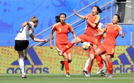 El golazo de Alemania contra China, imagen vía: Fifa.com