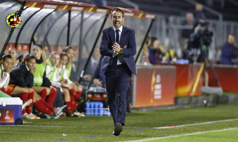Jorge Vilda, entrenador de la Selección Española Femenina