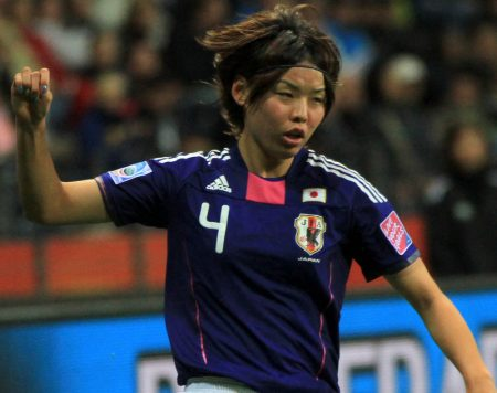 Mana Iwabuchi, estrella de la Selección de Japón