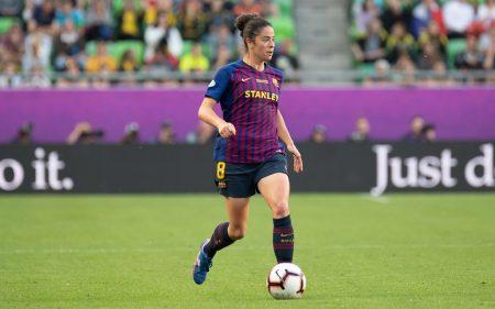 Marta Torrejón, parte de la Selección Española en el Mundial Femenino 2019