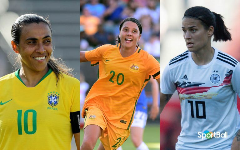 Mejores jugadoras del Mundial Femenino 2019 de Francia