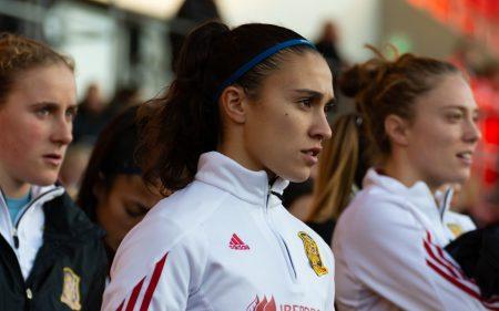 Nahikari García, parte de la Selección Española en el Mundial Femenino 2019