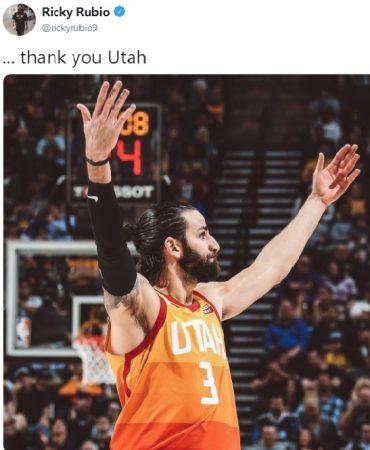 Ricky Rubio dejará Utah Jazz tras la llegada de Mike Conley