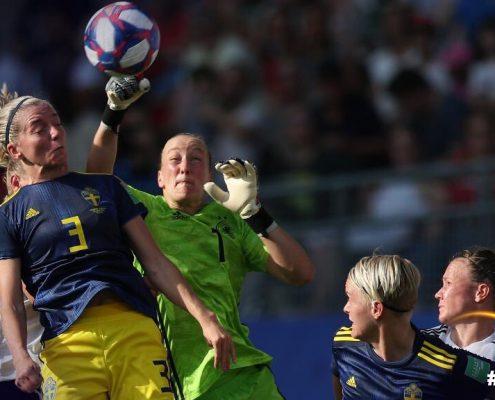 Suecia avanza a semifinales del Mundial Femenino. Imagen vía: Fifa.com