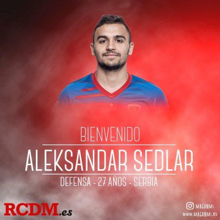 Aleksandar Sedlar, fichaje para la defensa del Mallorca 2019-2020.