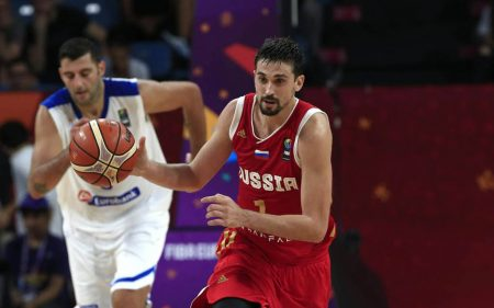 Alexey Shved will be one of Russia's next players in the 2019 World Cup in China.