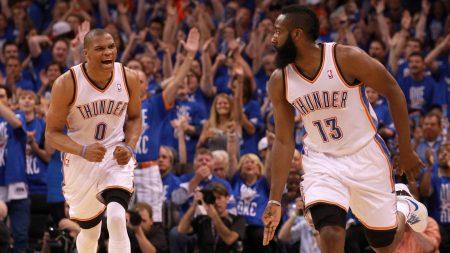 Cómo será el ataque de Houston Rockets con Westbrook y Harden