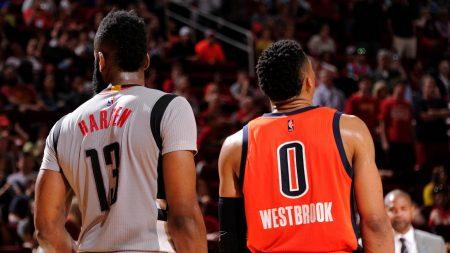 Cómo será la defensa de Houston Rockets con Harden y Westbrook