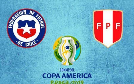 Chile vs Perú, semifinal de la Copa América 2019