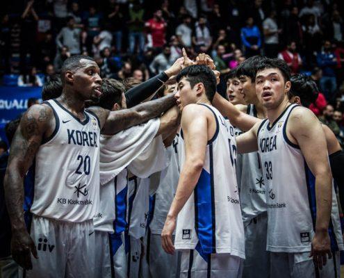 Resultado de imagen de selección corea baloncesto 2019