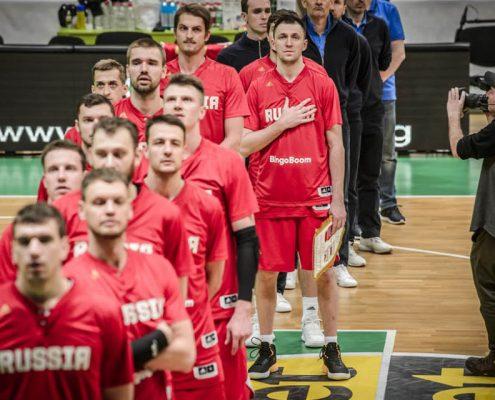 Resultado de imagen de selección rusa baloncesto 2019