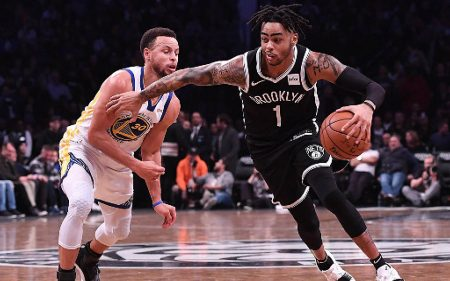 D'Angelo Russell, carne de traspaso para Golden State Warriors