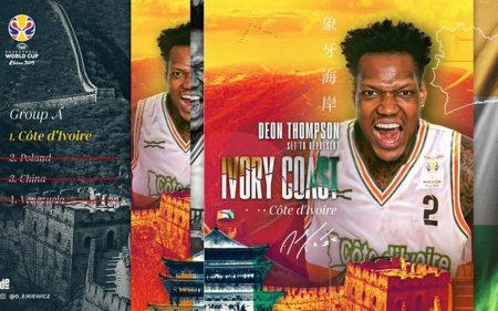 Deon Thompson será uno de los jugadores a seguir de Costa de Marfil en el Mundial de China 2019.