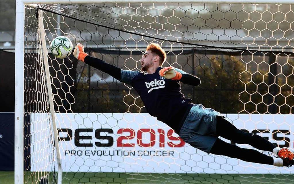 Jokin Ezkieta, ex del Barça, es uno de los fichajes del Athletic 2019-2020.