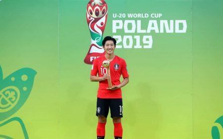 Kang-in Lee, MVP del Mundial sub-20 con Corea.