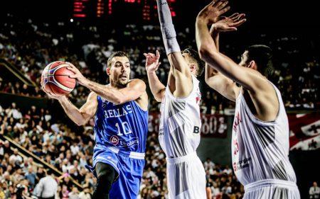 Kostas Sloukas será uno de los jugadores a seguir de Grecia en el Mundial de China 2019.