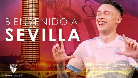 Lucas Ocampos, uno de los fichajes del Sevilla 2019-2020