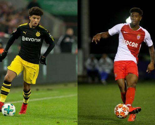 Jadon Sancho y Jonathan Panzo son dos de los mejores futbolistas inglesas que no juegan en Inglaterra en la Premier League.