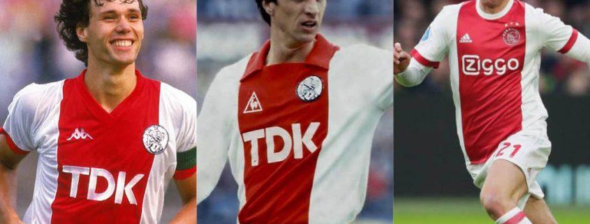 Mejores futbolistas salidos del Ajax