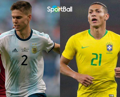 Mejores promesas y futbolistas jóvenes de Sudamérica