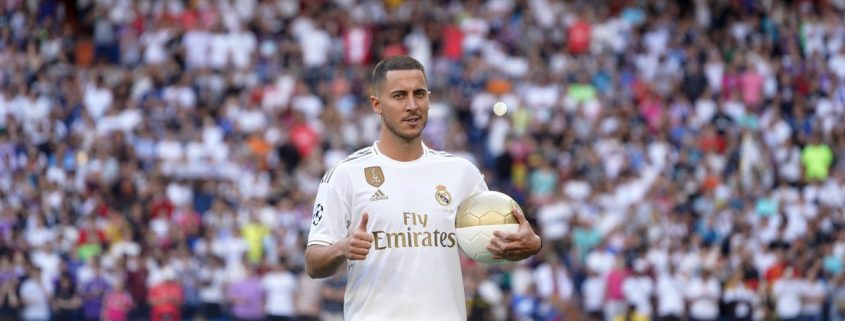 Eden Hazard, el gran destacado entre los fichajes del Real Madrid 2019-2020