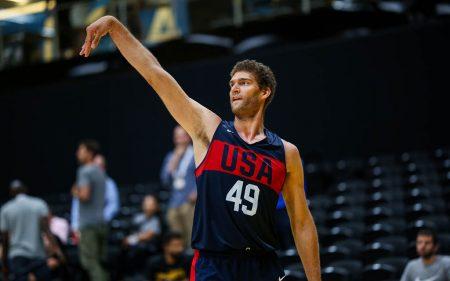 Brook Lopez será uno de los jugadores a seguir de Estados Unidos en el Mundial de baloncesto de 2019.