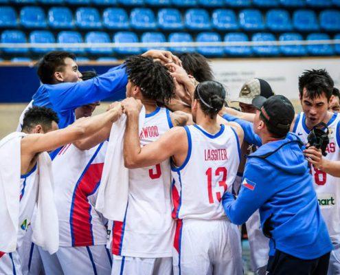Convocatoria de Filipinas para el Mundial de baloncesto 2019