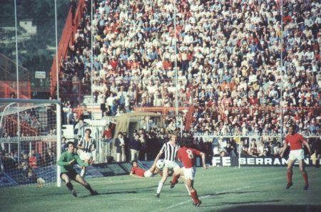 Gol de Renato Curi ante la Juventus.