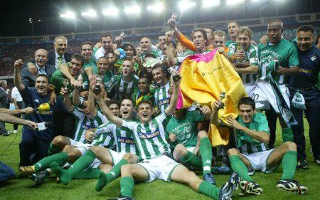 El Real Betis fue el campeón de la Copa del Rey en 2005