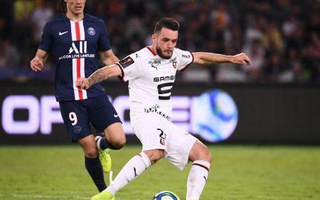 Jérémy Gelin, otro canterano en la plantilla del Rennes 2019-2020.
